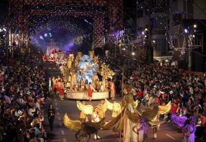 13_01_2011_Natal Luz de Gramado_Grande Desfile de Natal. Foto Cleiton Thiele/SerraPress